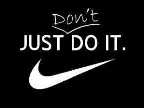 Just don't doit