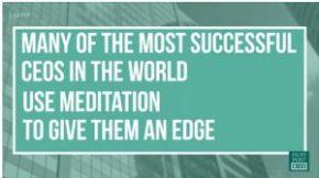 Meditoinnilla menestykseen?